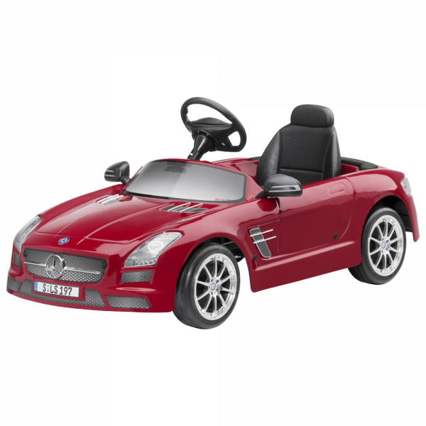 sls amg kinderfahrzeug mit pedalantrieb kinderspielzeug. Black Bedroom Furniture Sets. Home Design Ideas